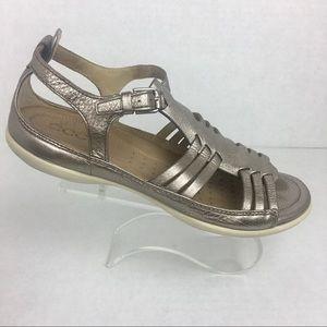 Ecco Poshmark 65 Metallic Warm Huarache Grey ShoesSandale Flash F1cTKJl